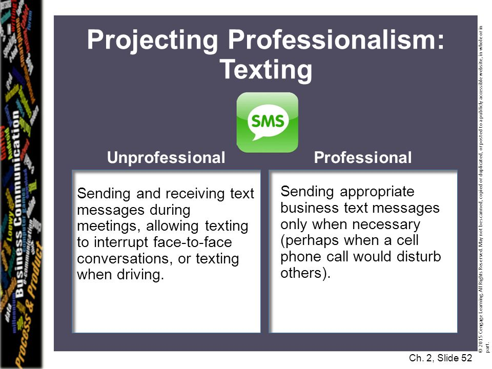 Projecting Professionalism: