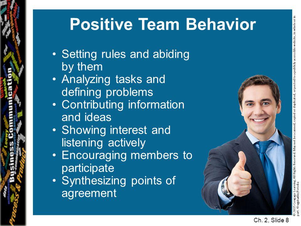 Positive Team Behavior