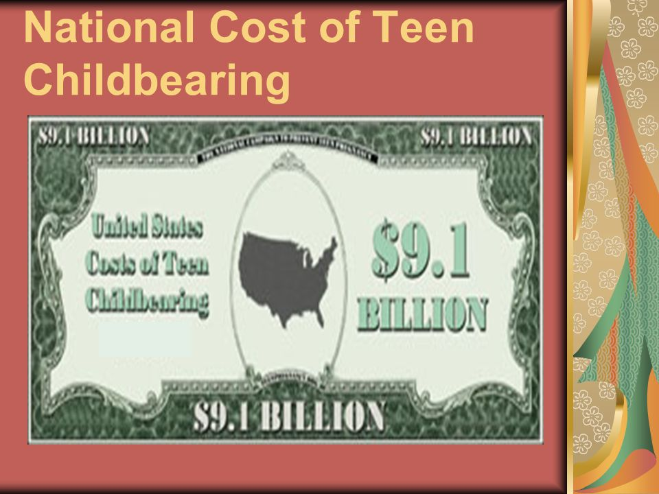 National Cost of Teen Childbearing