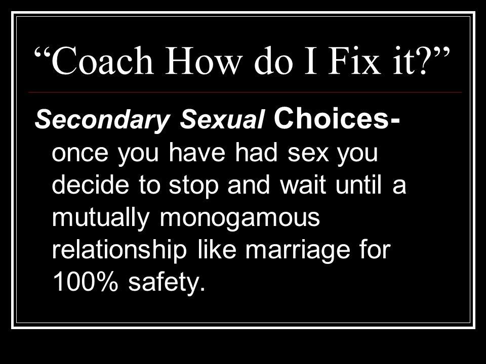 Coach How do I Fix it