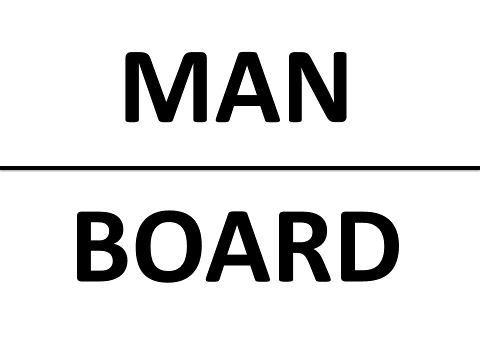 MAN BOARD Man over Board: Not a good place to be…neither is it a good place to be with unhealthy sexual choices!