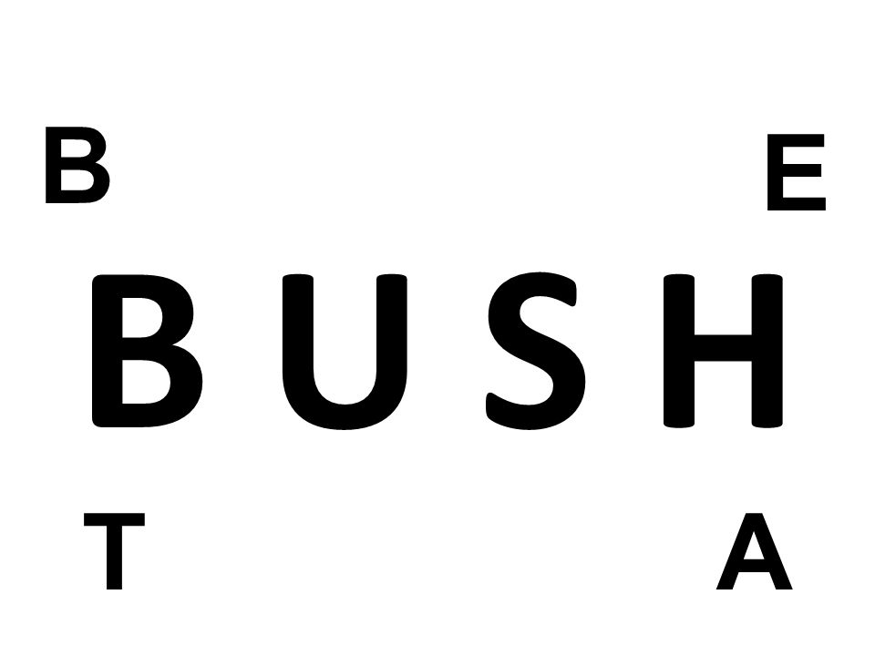 B E. B U S H. I will be very direct today with TRUTH and Solutions. I will not Beat Around the Bush