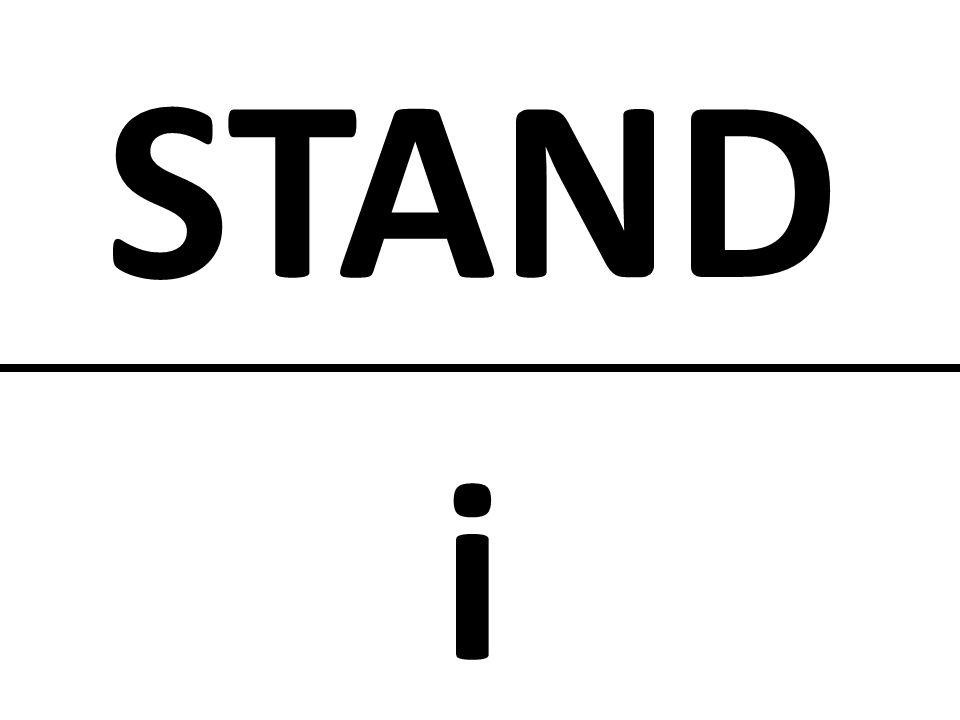 STAND i