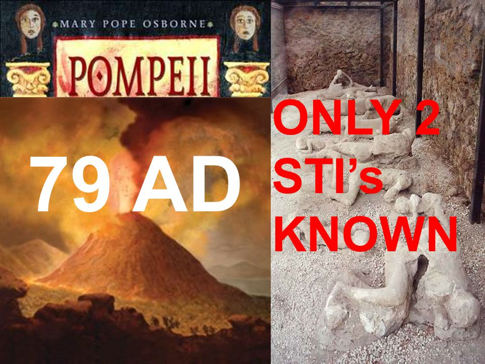 ONLY 2 STI's KNOWN 79 AD 79 AD only 2 STI's 79 A.D.