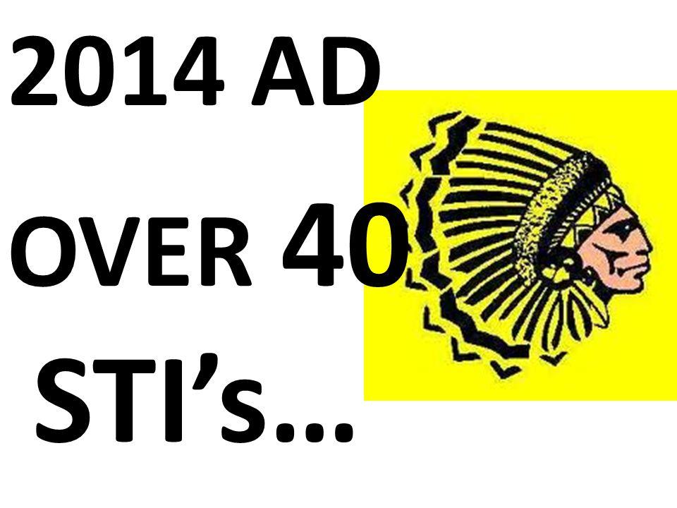 2014 AD OVER 40 STI's… WOW.