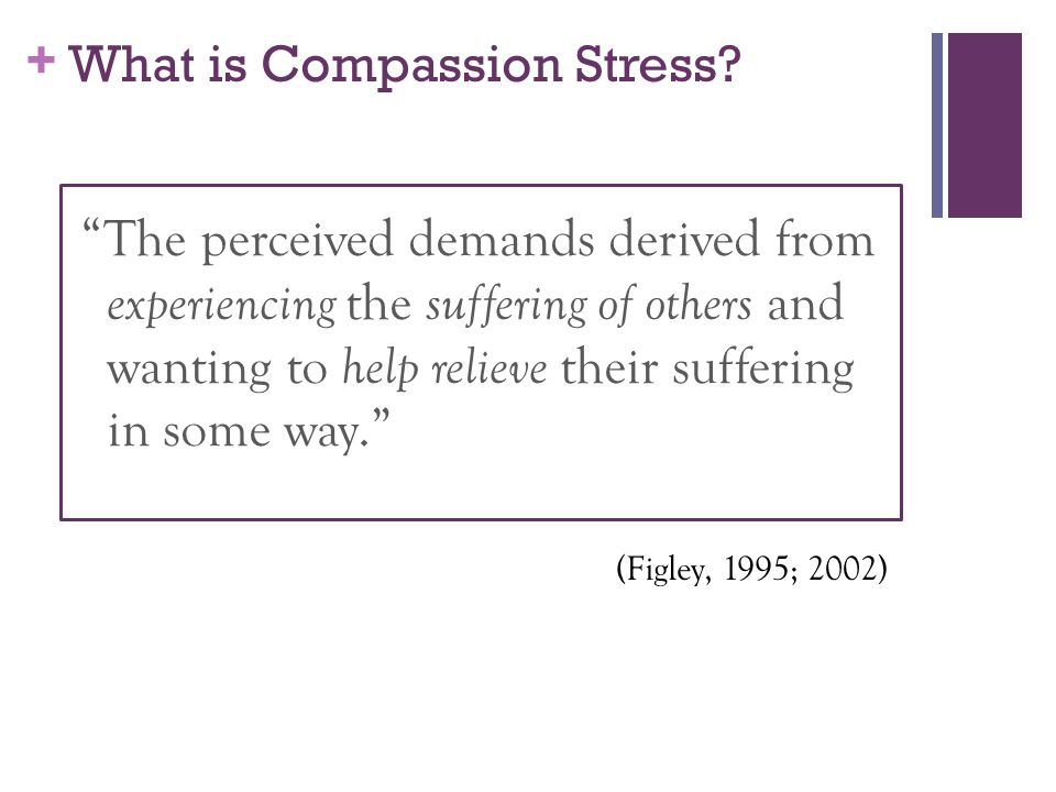 What is Compassion Stress