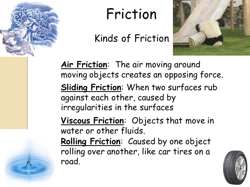 Friction Kinds of Friction