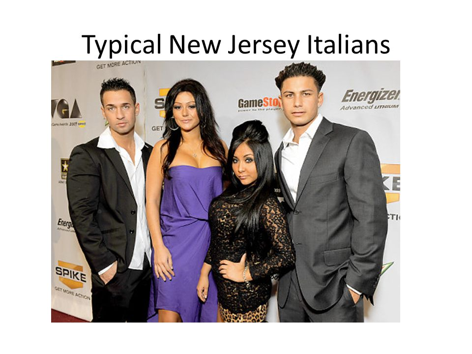 Typical New Jersey Italians