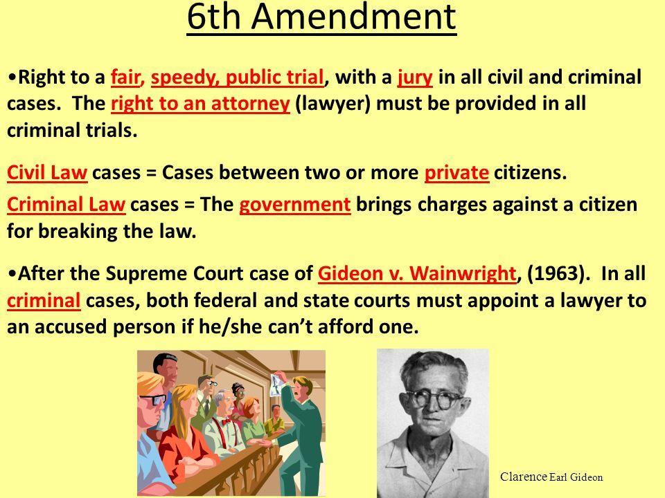 6th Amendment