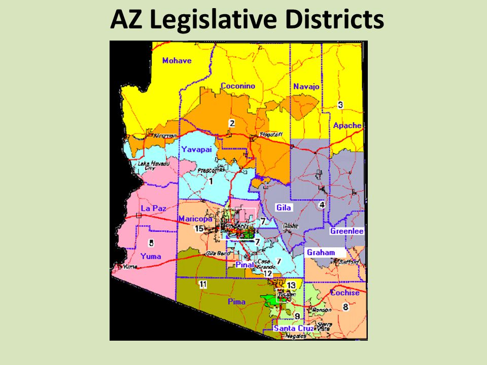 AZ Legislative Districts