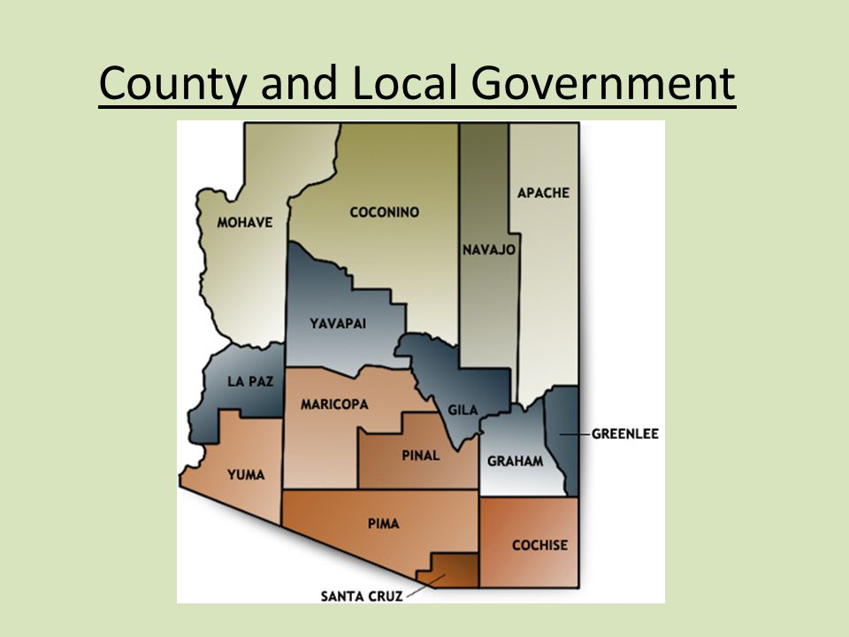 County and Local Government