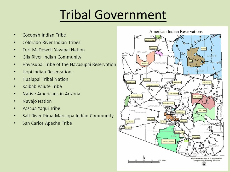 Tribal Government Cocopah Indian Tribe Colorado River Indian Tribes