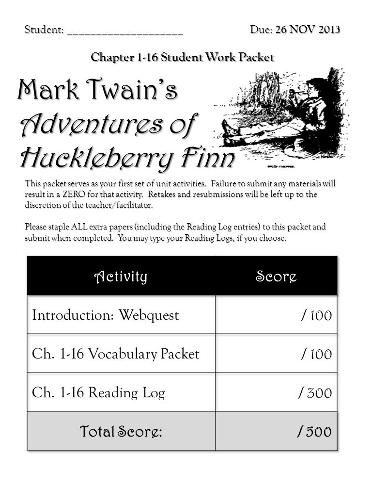 chapter 16 huckleberry finn pdf