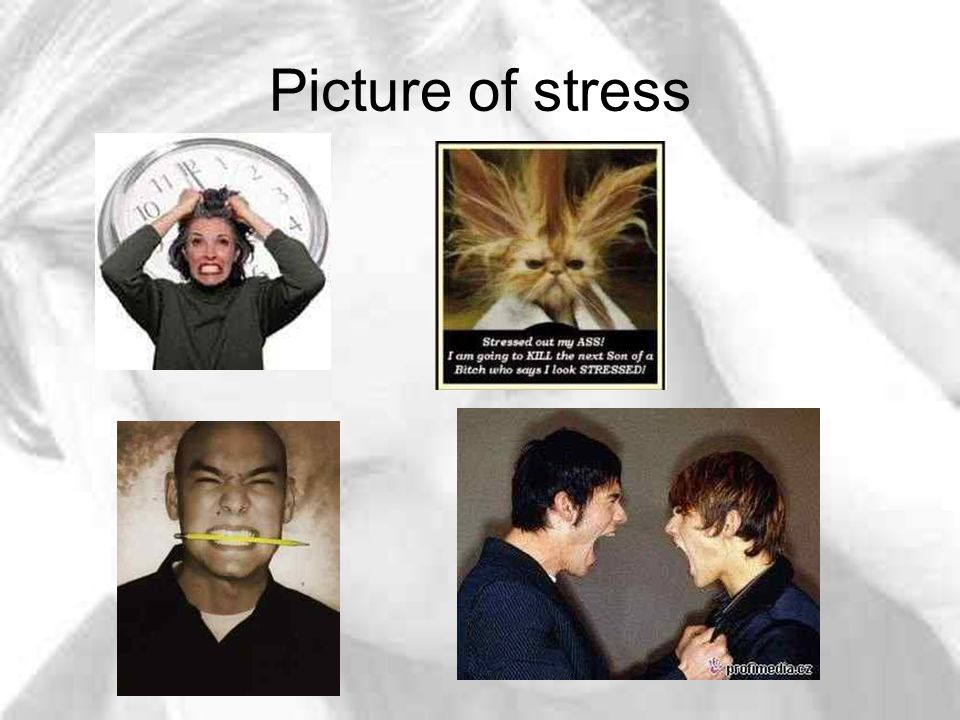Picture of stress
