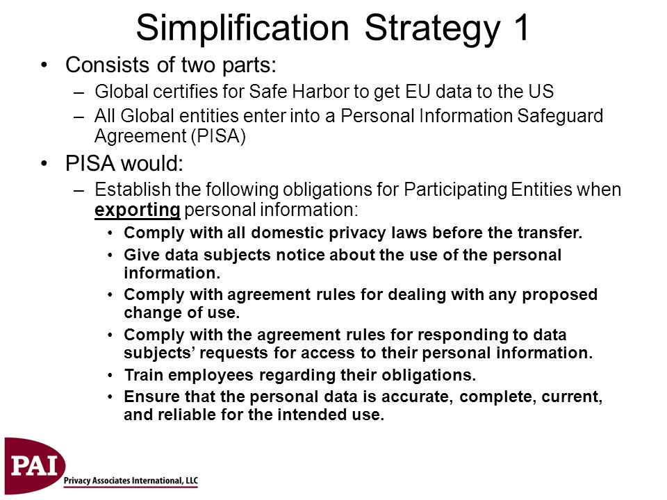 Simplification Strategy 1