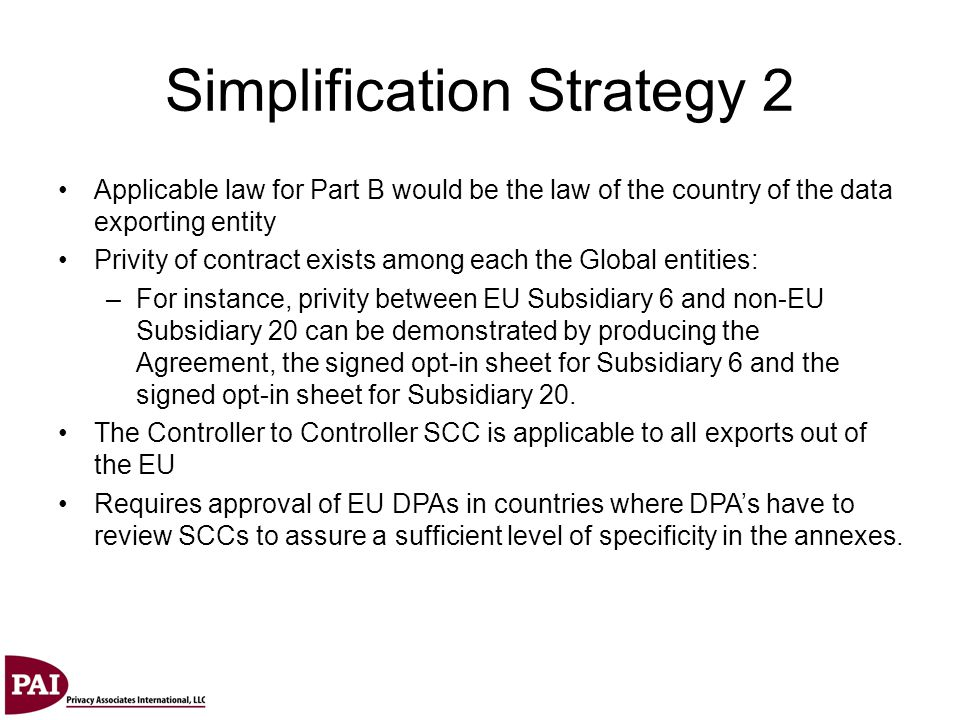 Simplification Strategy 2