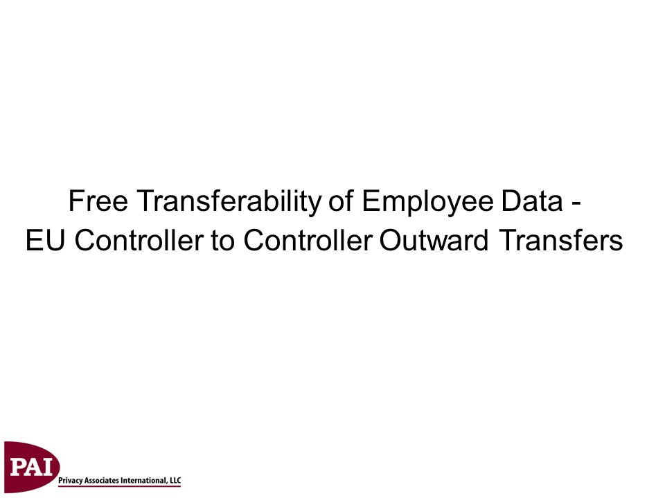 Free Transferability of Employee Data -