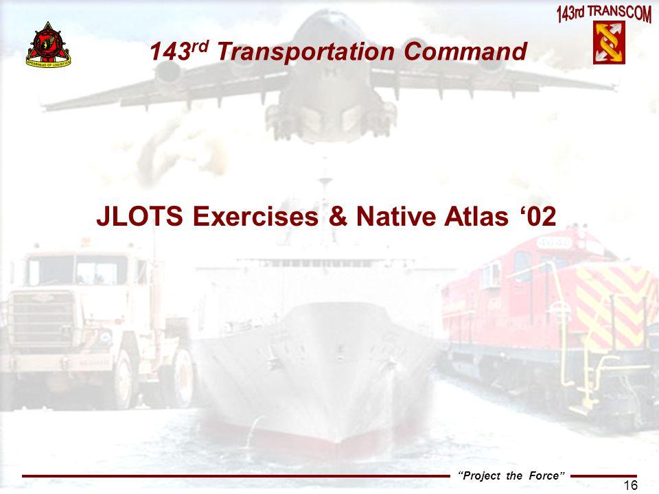JLOTS Exercises & Native Atlas '02