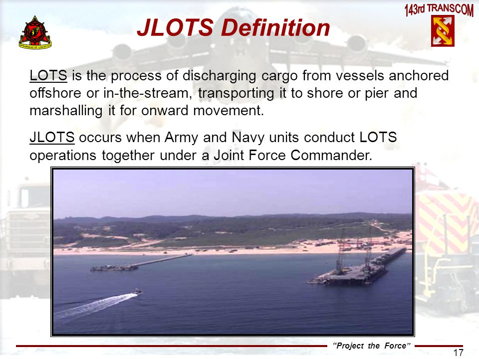 JLOTS Definition