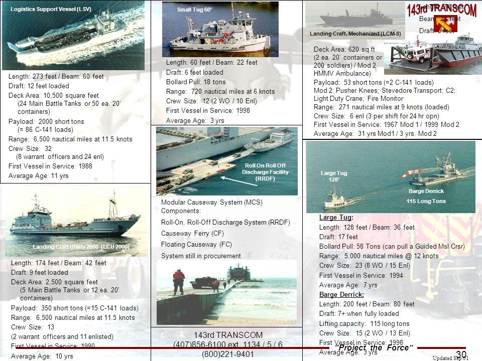 Logistics Support Vessel (LSV)