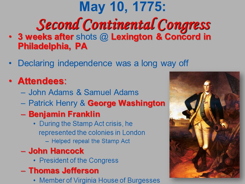 Patrick Henry and Benjamin Franklin Speeches