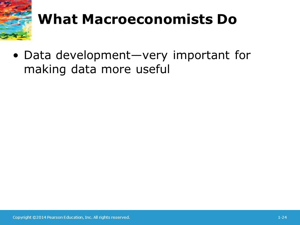 What Macroeconomists Do