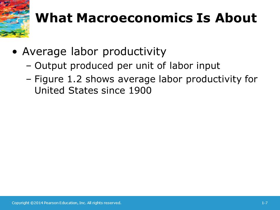 What Macroeconomics Is About