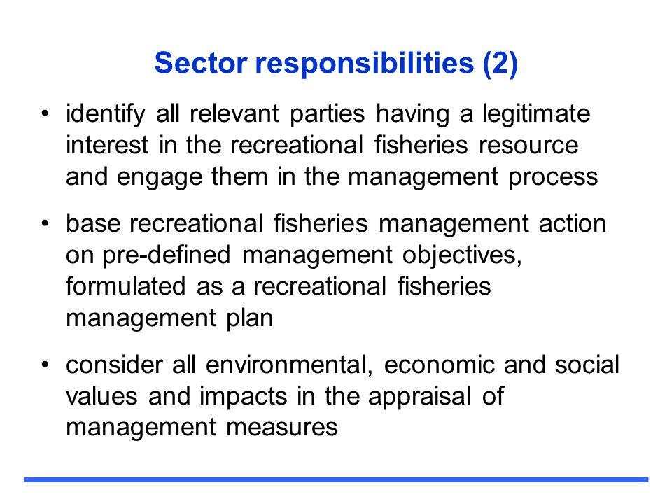 Sector responsibilities (2)