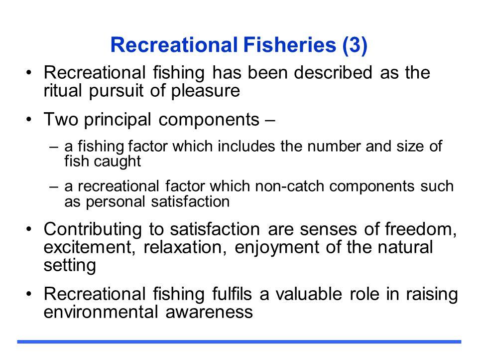 Recreational Fisheries (3)