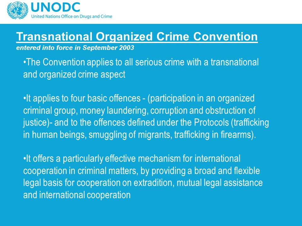 Transnational Organized Crime Convention
