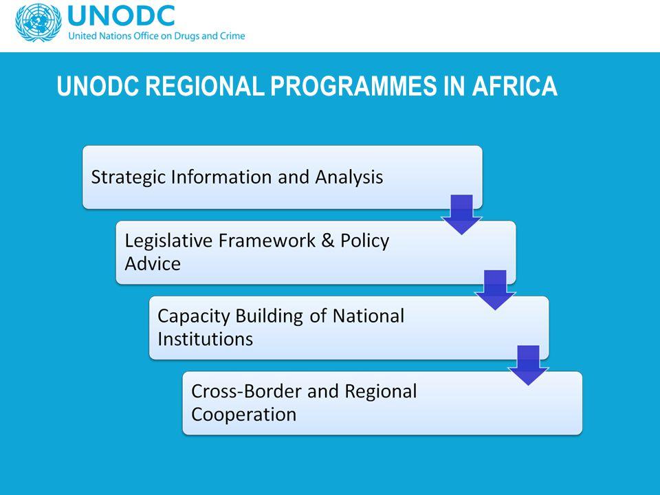 UNODC REGIONAL PROGRAMMES IN AFRICA