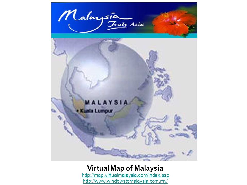 Virtual Map of Malaysia