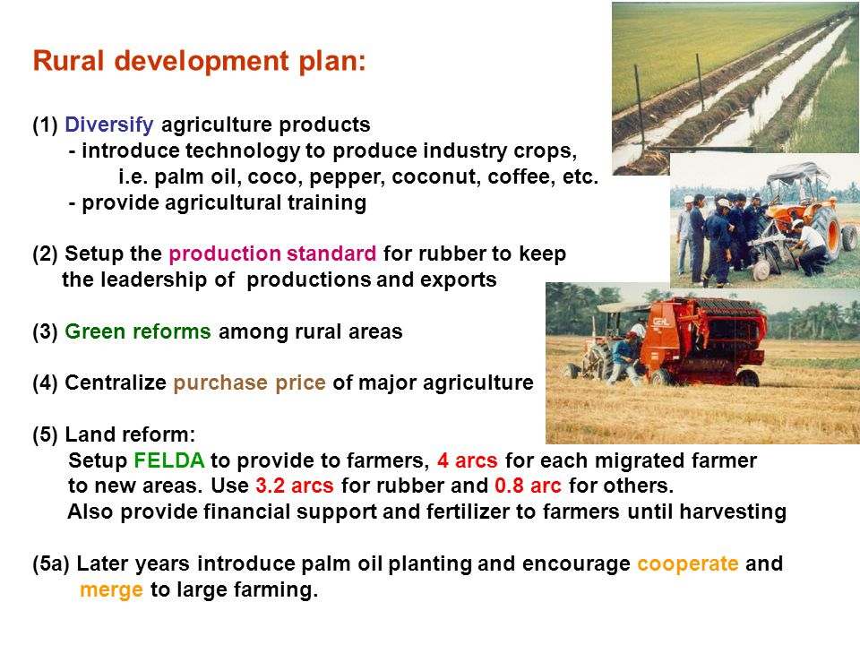 Rural development plan: