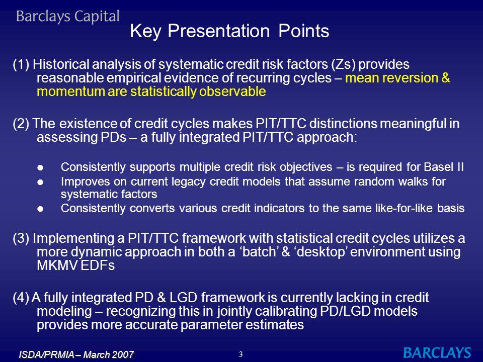Key Presentation Points