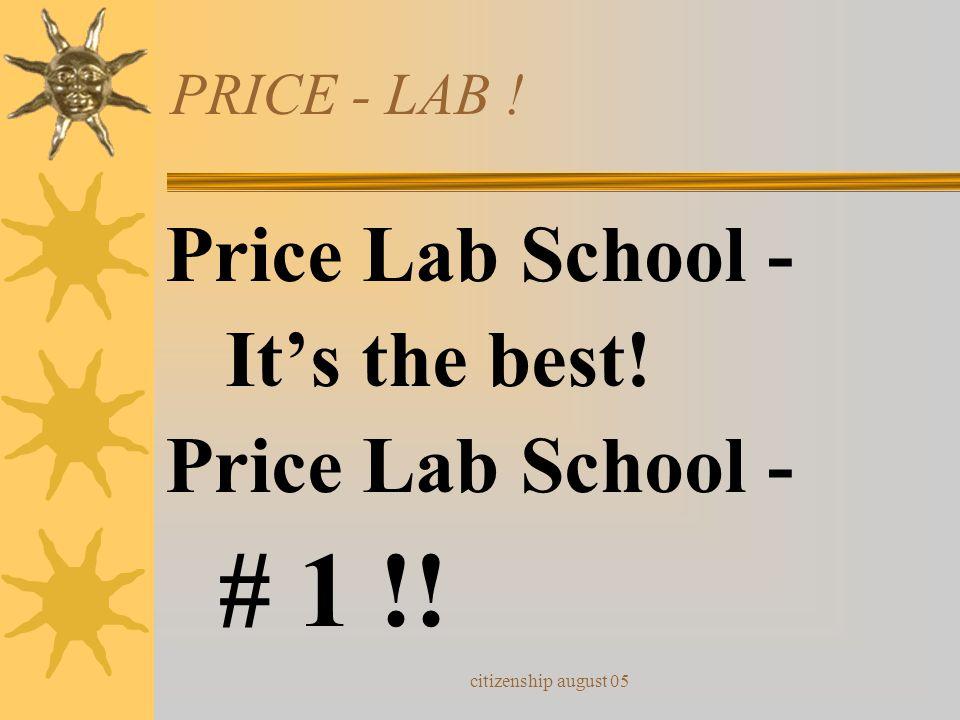 # 1 !! Price Lab School - It's the best! PRICE - LAB !