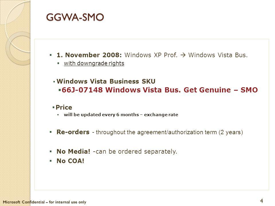 GGWA-SMO 66J-07148 Windows Vista Bus. Get Genuine – SMO