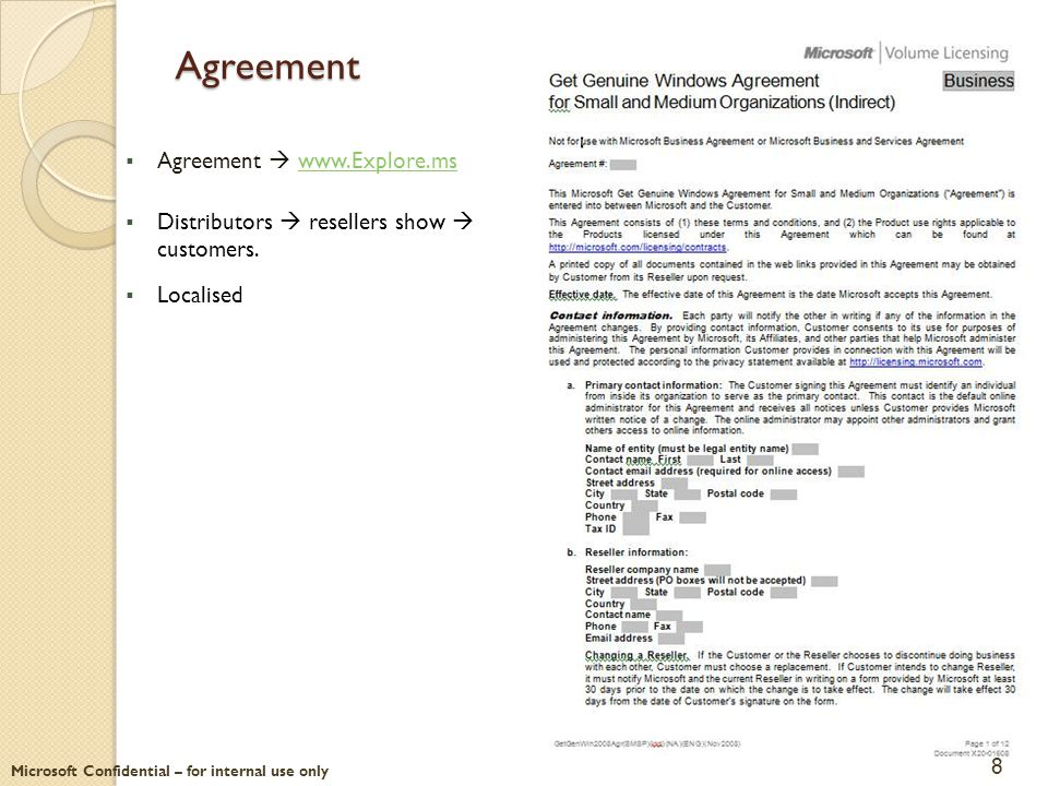 Agreement Agreement  www.Explore.ms