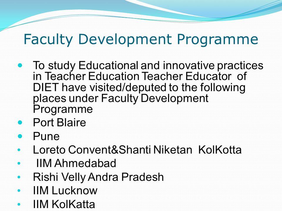 Faculty Development Programme