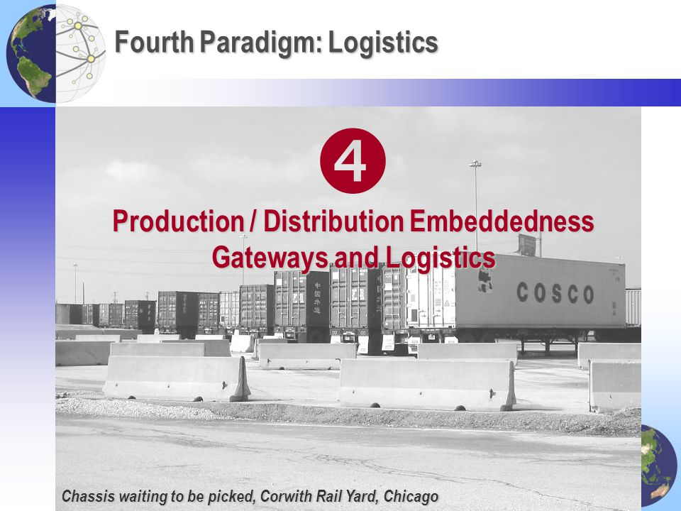 Fourth Paradigm: Logistics