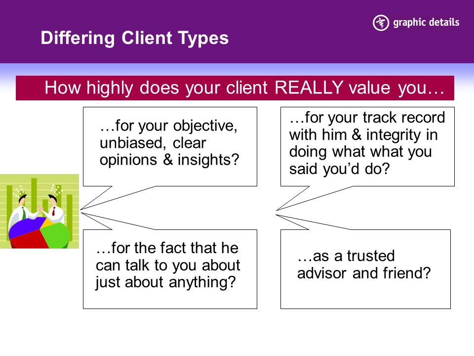 Differing Client Types