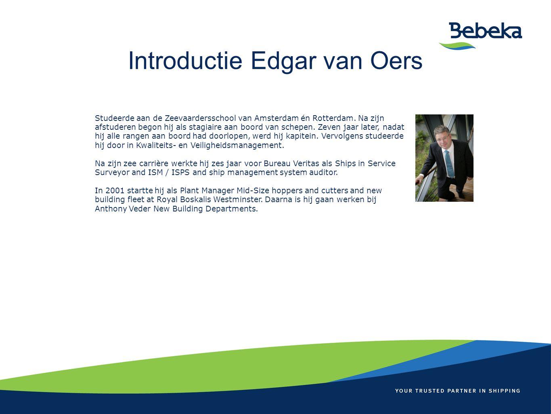 Introductie Edgar van Oers