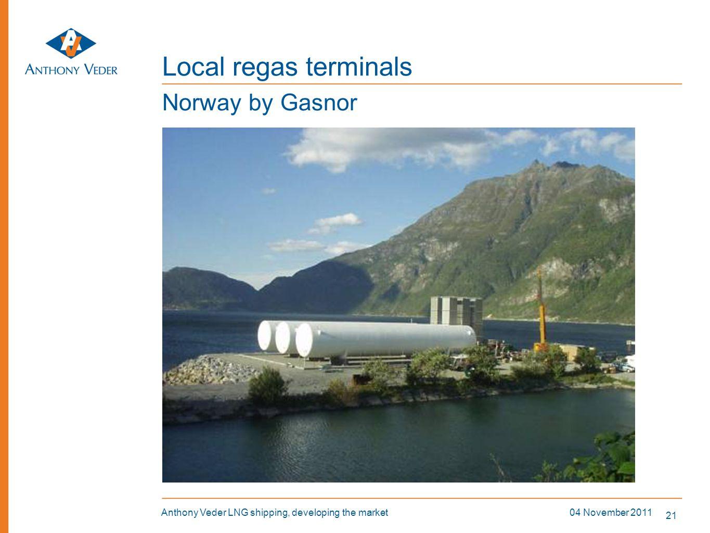 Local regas terminals Norway by Gasnor