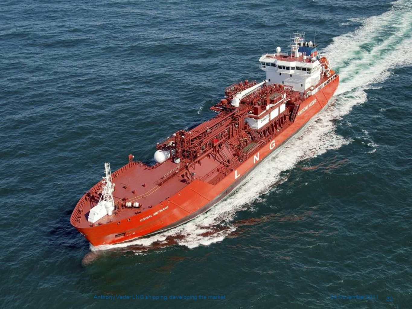 Anthony Veder LNG shipping, developing the market