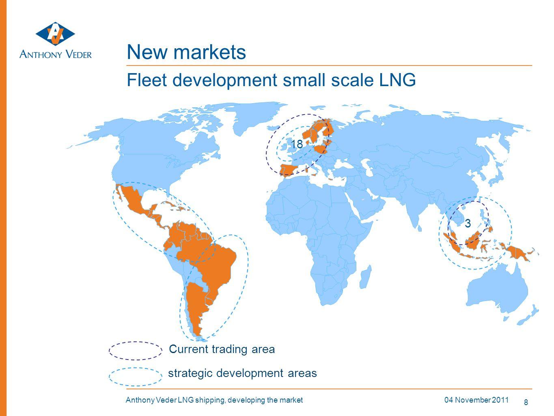 New markets Fleet development small scale LNG 18 3