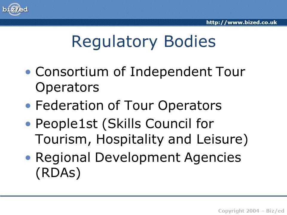 Regulatory Bodies Consortium of Independent Tour Operators