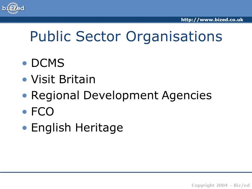 Public Sector Organisations