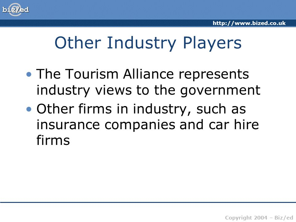 Other Industry Players