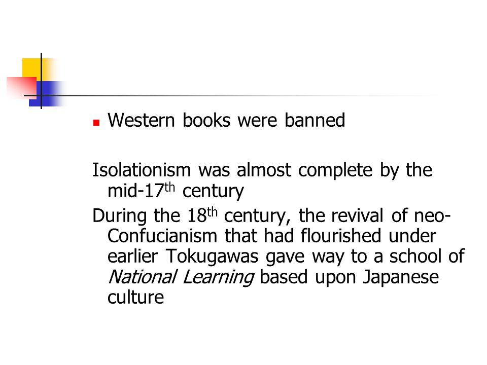 Western books were banned