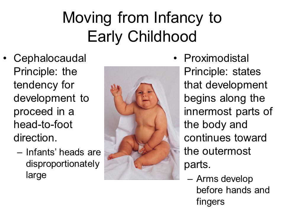 Moving from Infancy to Early Childhood