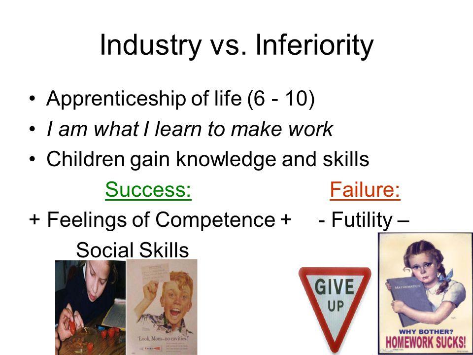 Industry vs. Inferiority